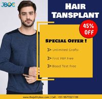 Hair transplant is the process of transferring hair from donor area to bald area to eliminate bald areas of the head. It is most popular way to retrieving the lost Hair. Book an Appointment for Free Consultation at 9577221199.Visit : https://www.thejollit...
