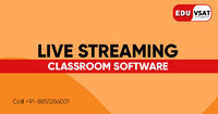 EduVSAT provides live streaming classroom software which is India's leading software for online classes. This live streaming classroom software is fully able to broadcast/stream classes directly. Know More Call: +91-885-128-6001 or Visit https://www...