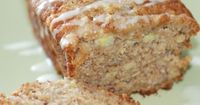 Banana Pineapple Bread This is my only banana bread recipe now. It freezes very well, usually I make it and keep some in the freezer for last minute guests. It calls for 1 1/2 cups oil - instead I use 1 1/4 cup applesauce 1/4 cup oil, it still comes out v...