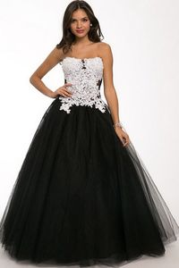 Chic and elegant, this gown elegant dinner in an hour after treatment. Dear strapless bodice is framed in sparkling colors of Crystal and elegant sequin embellishments. The empire waist pleated, this perfect picture ensemble hem in length, completed in th...