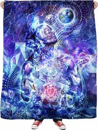 Transcension - Fleece Blanket $65.00