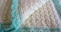 Modern Grace: Baby Blanket :: Free Pattern - Click image to find more DIY & Crafts Pinterest pins