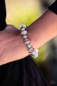 Paparazzi Eastern Enchantment - Red $5.00