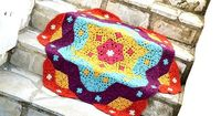 Ravelry: Grow Your Flower Blanket pattern by Elena Fedotova