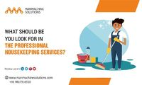 A good housekeeping service will give you a lot an exclusive-mind set of paramount services. You can avail our services by clicking here https://www.manmachinesolutions.com/