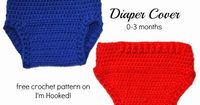 Crochet Diaper Cover By I'm Hooked!   Free Pattern