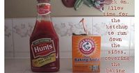 The Ketchup Prank.. april fools, this is a good OUTSIDE prank, cuz i'd be the one cleaning that crap up. LOL