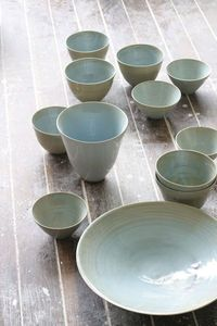 Samantha Robinson's enticing collection of porcelain makes me so happy this morning! I am hoping that I can find some of it locally because I have my eyes on a