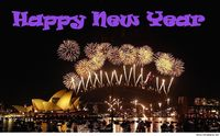 Happy new year color wallpaper hd