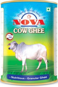 Nova cow ghee is made from pure cow milk at state-of-the-art processing plants where we maintain the highest quality standards. We ensure you and your family get all the benefits of cow ghee. Visit:- https://www.steragro.com/cow-ghee.html