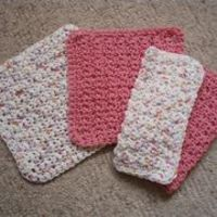Are you looking for a pattern for a crocheted dishcloth? This one is easy, quick, AND cute! It works up quickly, and is easy enough for the beginner crocheter. It is done with a variation of the single crochet stitch, and can be made to any desired size w...