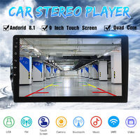 9 Inch 2DIN for Android 8.1 Car Stereo MP5 Player Quad Core 1+16GB WIFI GPS Navigation FM bluetooth Phone Link DAB