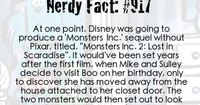 nerdy fact #917 this is a cute idea! don't do it without Pixar but it would make a cute toy.