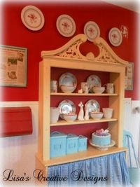 country kitchen 16 449x600 Decorating With Plates...A Budget Friendly Way To Spruce Up A Room