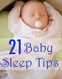 go back and read: Great collection of tips to help babies sleep through the night �™�getyourbabytosleep.com