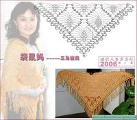 pineapple shawl pattern