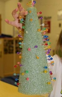 These fine motor Christmas trees are a great way to combine 3D art and pre-writing skills with an open-ended invitation to play and create!