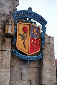 Dining at the Be Our Guest Restaurant at Walt Disney World