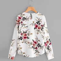 Summer Autumn Fashion Blouse For Women Casual Print Flower Long Sleeve White Chiffon Shirt Top blusas feminina verao $16.99 Women's Wholesale Fashion Outlet NOW SHIPPING WORLD WIDE !!! Download our mobile app @ http://mobincube.mobi/5HHP29