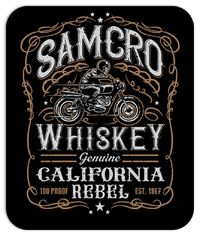 SOA Whiskey Mouse Pad $9.99 https://www.nurdtyme.com