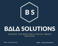 BalaSolutions team is a global full service digital marketing & SEO company in Chandigarh. We are extremely aggressive and we get you the results you want with Best SEO Experts in Chandigarh. Balasolutions is dedicated to providing your business with ...
