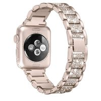 Stainless Steel Diamond Band For Apple iWatch series 5/4/3/2/1 40mm 44mm 38mm 42mm $42.99