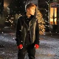 First listen at Justin Bieber's new single Mistletoe premiered by Ryan Seacrest on Monday, October 17, off his Christmas album, out November 1, 2011.