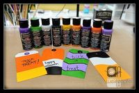 Halloween treats by Tracy Weinzapfel with DecoArt & Viewtainer