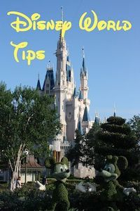 Walt Disney World tips. Good tips!
