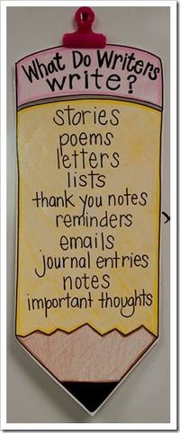 I love this! I want all my students to know that they are writers! Andddd that writing doesn't have to be boring.