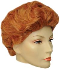 Lucy C Orangey Red Wig $30.91 https://costumecauldron.com