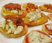 Potato Slice Appetizers - (Gluten Free with an Array of Toppings) - GlutenFree.Answers.com