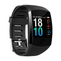 XANES® Q11 1.3'' Single Touch Screen IP67 Waterproof Smart Watch Call Reject Heart Rate Monitor Multiple Sports Modes Fitness Sports Bracelet