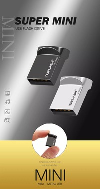 Nuiflash NF-USB-28 Mini USB Flash Drive USB 3.0 16GB 32GB 64GB 128GB Metal Flash Memory Card USB Stick Pen Drive U Disk