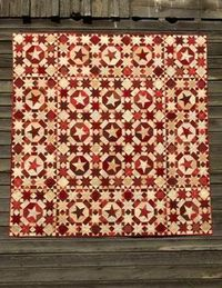 Buggy Barn pattern, Seeing Red, in their book Crazy or Not.