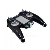 Flysky 2.4G FS-NV14 14CH Remote Control with Touch Screen for DIY Racing Drone - Black