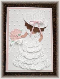 Pink and Frilly and Feminine Yep... that's what my friend ordered for her 5 year o...