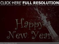 Happy new year hd wallpaper champagne 2015