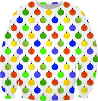 Colored Christmas Sweatshirt $59.95