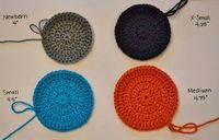 The Sequin Turtle: Pattern Resizing - Basic Beanie Patterns (NB, XS, S, M, L and XL)