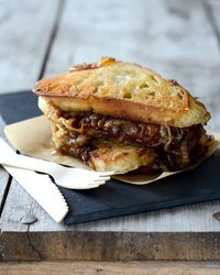 French Onion Soup Sandwiches by