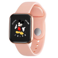 Bakeey M8V Full Touch Screen Heart Rate Blood Pressure Oxygen Monitor Funny UI Display Smart Watch