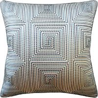 Edge Stitch Teal Pillow by Ryan Studio $305.00