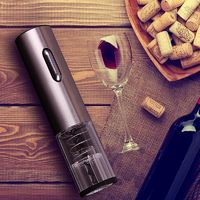 USB Charging Electric Wine Opener Corkscrew Automatic Wine Bottle Opener Kit Cordless With Foil Cutter Kitchen & Bar Accessories $29.81