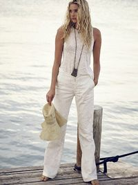 Cutwork Lace Flare by Free People