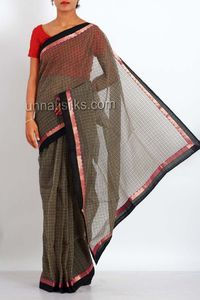online shopping cream color meghalaya sarees are available at www.unnatisilks.com