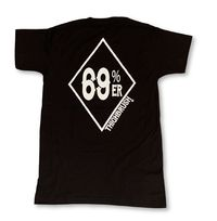 "THIGHBRUSH® - ""69% ER DIAMOND COLLECTION"" - Men's T-Shirt - Black"