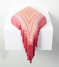 "Lionel Bawden constructs elaborate and fluid sculptures strictly with Staedtler pencils. As it is noted on the Australian artist's site, ""Baw..."