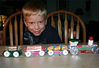 Lifesavers Candy Train Crafts. Lifesaver candy trains make great birthday party centerpieces. Children can even join in the fun and help make these delicious tr