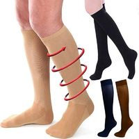 30-40 mmhg Relief Compression Knee Stockings Leg Socks Relief Pain Support Socks $4.00